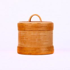 Behälter aus Holz.