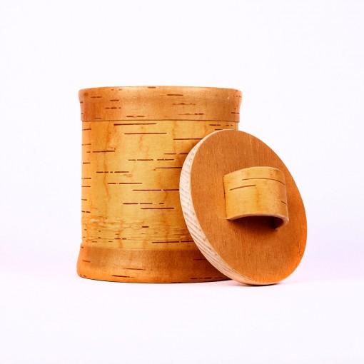 Getreidespeicher aus Baumrinde