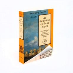 ansicht eines Buches, Softcover, farbig, Biografie über den Hutterer Claus Felbinger
