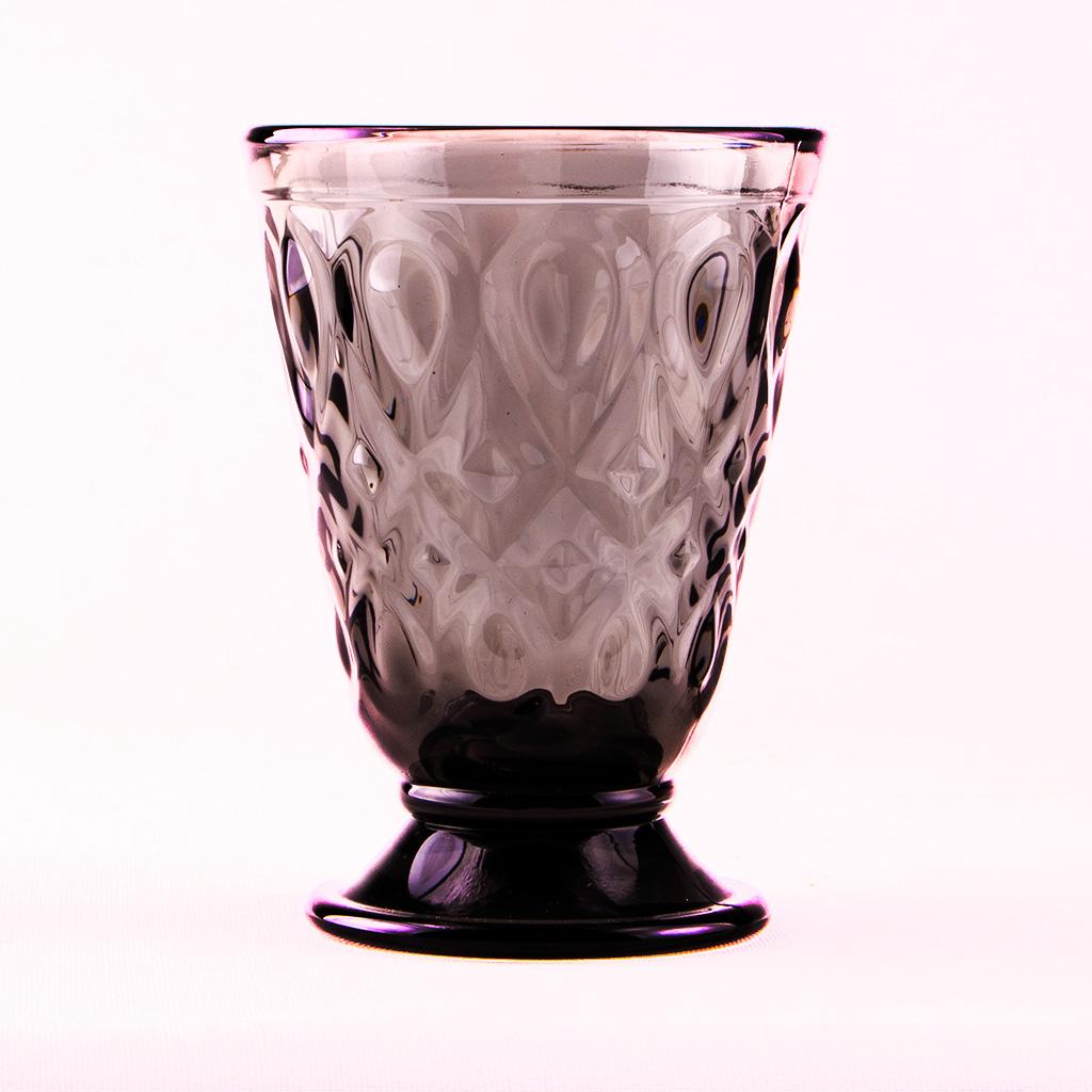 Honigweinglas / Becher für Honigwein in elegantem Schwarz.