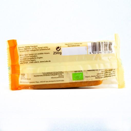 Marzipanrohmasse ohne Zucker 250g.