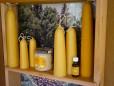 Honig, Kerzen und Propolis
