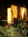 Kerzen für Advent