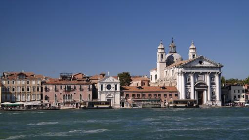 Die Stadt im Wasser: Venedig.