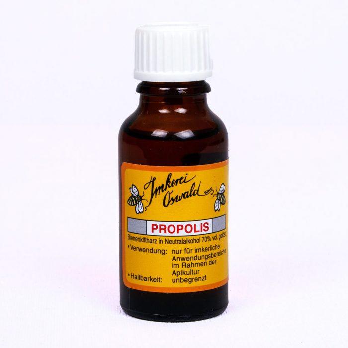 Propolis Tinktur, Tropfen oder Lösung direkt vom Imker kaufen.