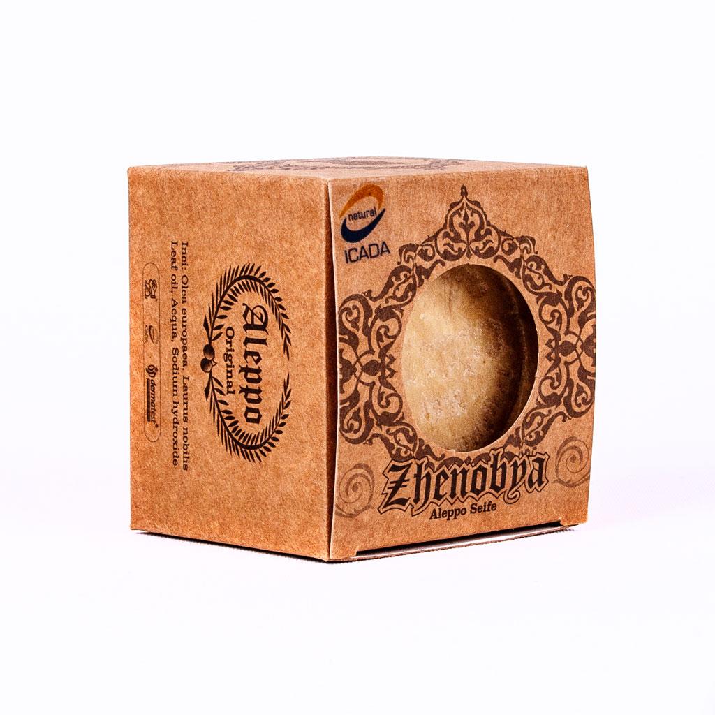 Ein Produkt aus unserem Seifensand, eine Lorbeer Seife.