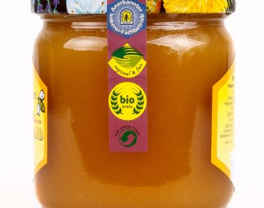Organic Honey Germany: Blossom Honey harvested late.