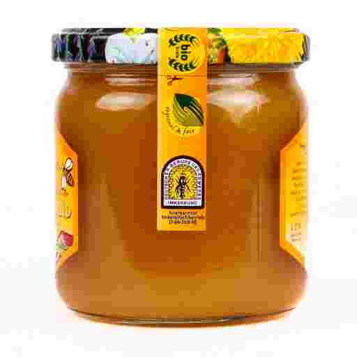 Honig kaufen vom Imker: Grober Honig.