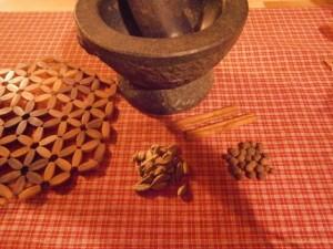 Kardamom, Zimt und Piment