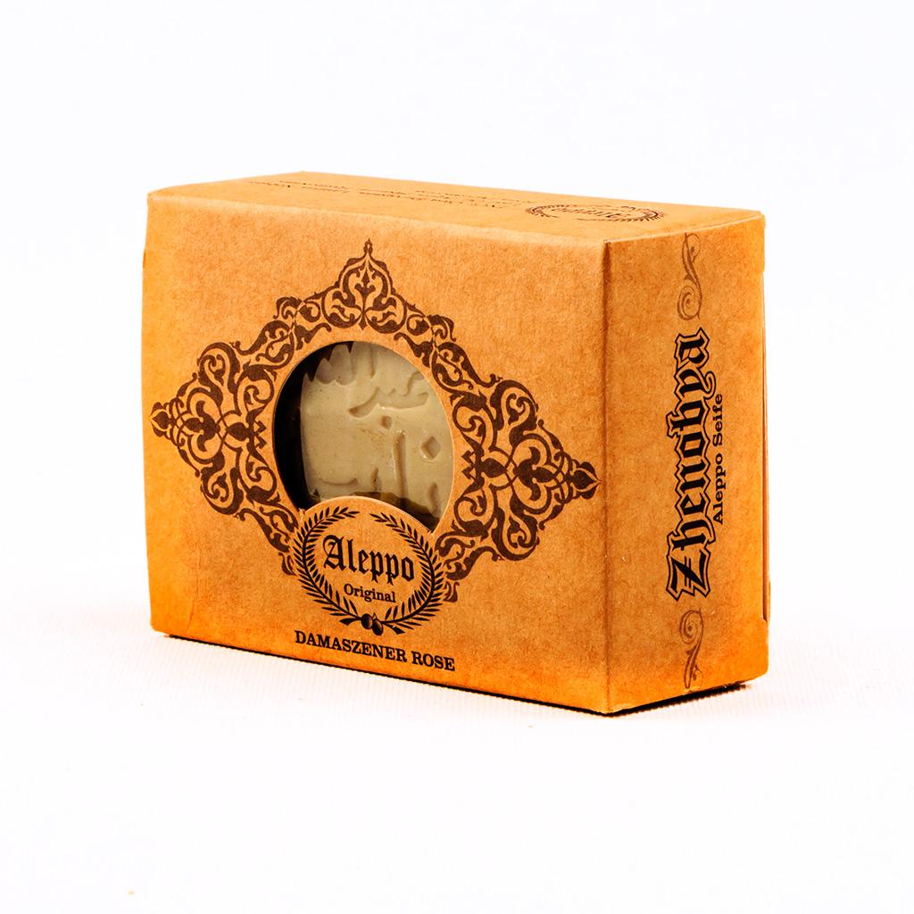 Die Damszener Duftseife ist ungefärbt und aus natürlichen, rein pflanzlichen Rohstoffen, also eine vegane Seife.