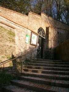 Prantlgarten-Tor, der Zugang zum Hofberg, einem ehemaligen Wildgehege
