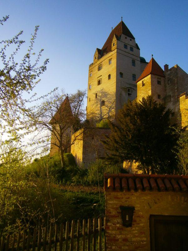 Der Wittelsbacher Turm der Burg Trausnitz.