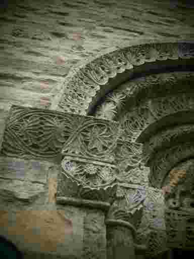 Mittelalterliches Portal.
