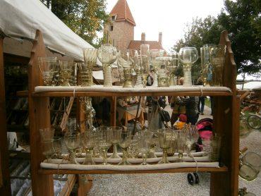 Waldglas am Mittelalter Fantasy Fest auf der Burg Trausnitz