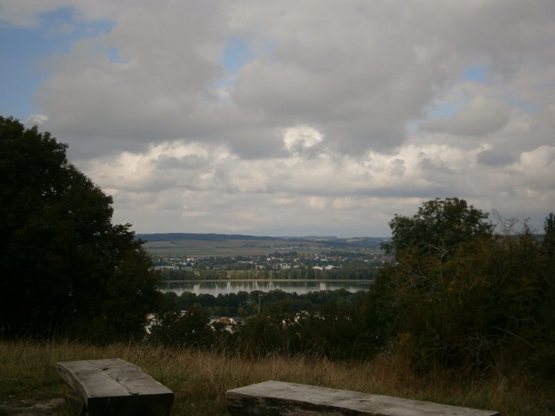 Aussichtspunkt im Naturschutzgebiet.