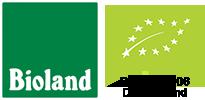Bioland und DE-ÖKO-006 Deutschland Logos