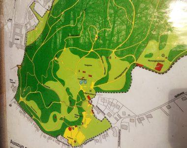 Hier ist ein Plan vom Tiergarten Landshut.